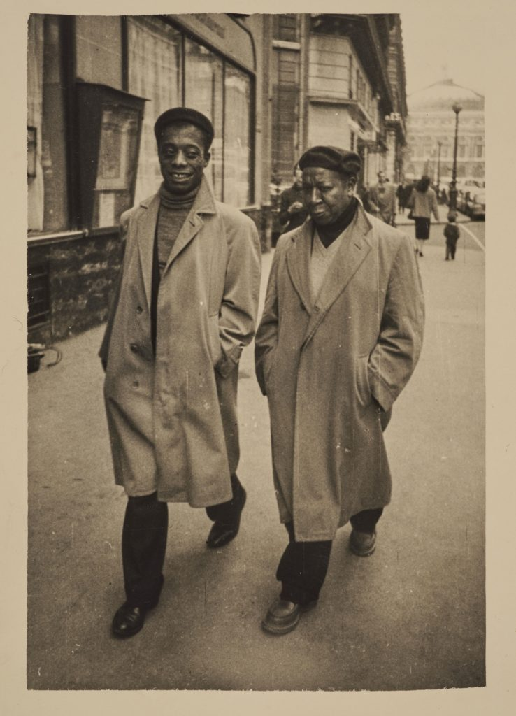 Baldwin and Delaney walking